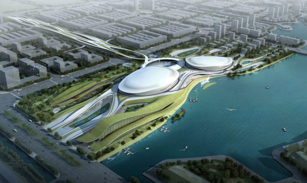 晋江第二体育中心 世界中学生运动会 主场馆